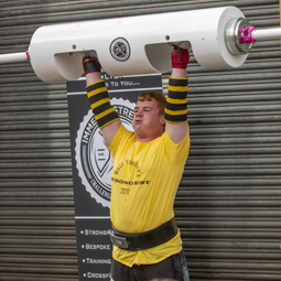 RNC Student Strongman Takes Podium at First Competition of the Year