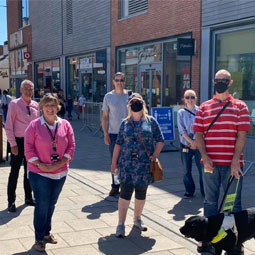 Mobility and Braille Team Collaborate with Hereford's Old Market Shopping Centre